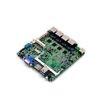 2017 New linux embedded ubuntu Motherboard itx nano mainboard with intel N2806 Processor(China)