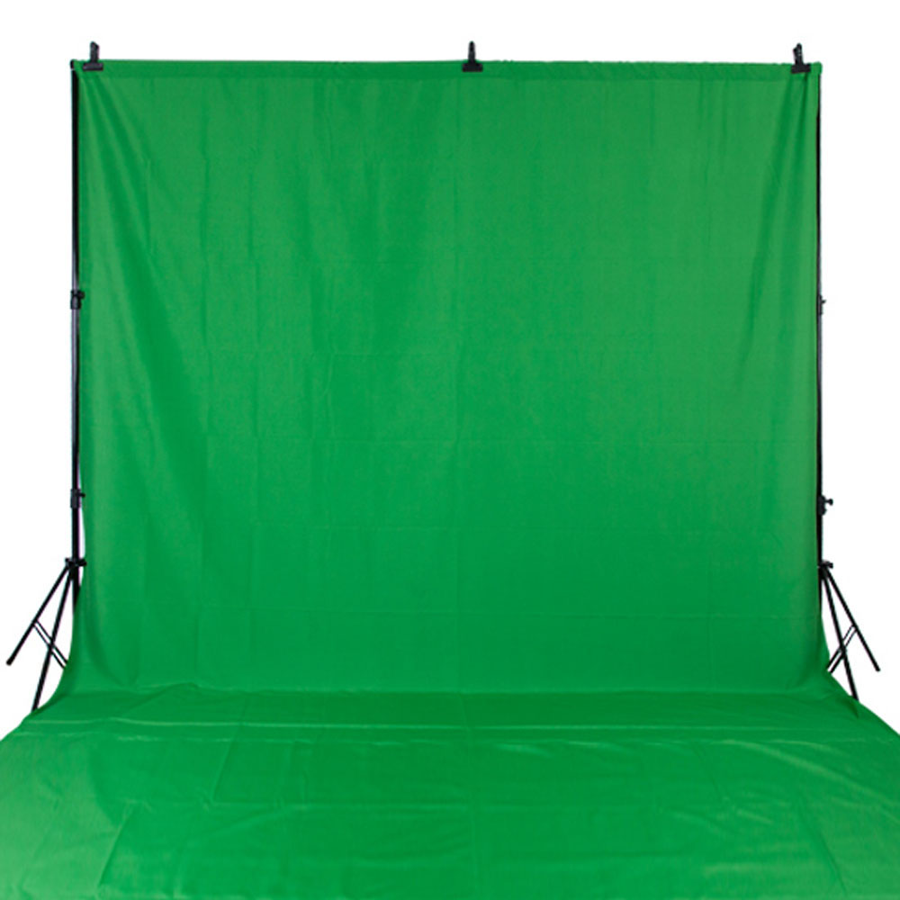 NeoBack 10x20ft 3x6m Chromakey Photo background Photography Backdrop Studio Video Muslin Cotton Fabric Green Screen CKG1020<br>