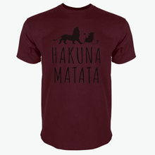 Buy Summer 2017 Cotton T-Shirts HAKUNA MATATA Men's Big Size T Shirts Short Sleeve Slim Fit Fashion Tops & Tees Male Clothing for $4.13 in AliExpress store