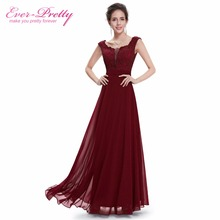 Ever Pretty Evening Long Dresses Special Occasion 2017 New Arrival Formal Elegant Maxi Fashion Plus Size Chiffon Dress HE08628