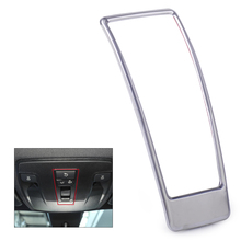 ABS Plastic Chrome Sunroof Light Switch Decor Trim Frame Cover Mercedes Benz GLA CLA B Class X156 C117 W176 W246 2015 2016 - hermeshine Store store