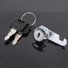 1Pc Practical Cam Lock Mail Box File Cabinet Desk Drawer Lock with 2Keys 16mm/20mm/25mm/30mm
