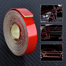 CITALL Car Auto Trucks Motorcycle Body DIY 5 M x 1cm Reflective Strip Sticker Tape Self Adhesive Decal(China)