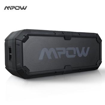 MBS7 Nouveau Mpow Armure Plus Portable Bluetooth Haut-Parleur IPX5 Étanche Antichoc Mic Mains Libres Appel Barre De Son Haut-parleurs Haut-parleurs