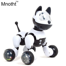 New 2016 Smart Dog with 15 Function Can Walk Light UP with Music Toys Voice - Controlled Story Machine Gifts for Kids Birthday