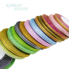 (25 yards/lot) 1/4'' (6mm) colorful polyester ribbon Christmas packaging ribbon high-grade quality squares ribbons