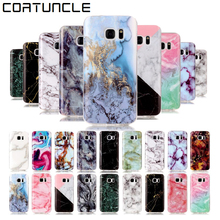 Case For Samsung Note 8 Back Cover Soft Silicone TPU Marble Case sFor Samsung Galaxy S3 S4 S5 S6 S6 Edge S7 Edge S8 S8 Plus Case(China)