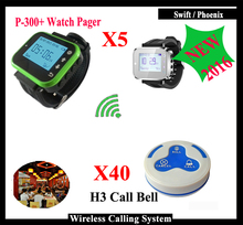 High quality Restaurant calling watch receiver for waiter use K-300plus and H3 Restaurant Call Bell For Restaurant Call System(China)