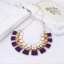 2015 Vintage Statement Necklaces Collares Femininos Accessories Colar Fashion Gold Plated Women Jewelry Mujer Bijuterias N104