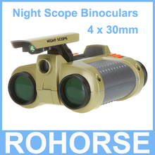 Brand new Dororo Fishing Eyewear 4 x 30mm Night Scope Binoculars with Pop-up Light