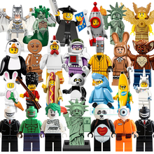 Building Blocks Figures Inhumans Royal Family Penguin Gingerbread Man Joker Super Heroes Star Wars Bricks Kids DIY Toys Hobbies