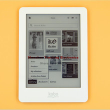 4 colors Kobo Glo eBook eReader N613 e-Book Touch screen e-ink 6 inch 1024x768 2GB WIFI book Reader