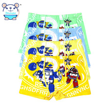 Boys Boxer 2017 New Children Underwear Boys Short Panties Baby Boy Briefs Kids Clothing For Boys 4Pcs /Lot