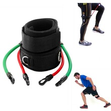 Leg Straps Speed Strength Training Resistance Trainer Kinetic Tube Bands Workout Fitness Baseball Football Kick Punch Taekwondo