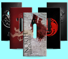 Ice and Fire Cover Relief Shell For Microsoft Nokia Lumia 929 930 Cool Game of Thrones Phone Cases For Lumia 920 925