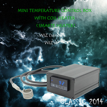 (CLASSIC 2014 ,WIZA , BULE) TITANIUM NAIL,HOT RUNNER COIL HEATER,TEMPERATURE CONTROL BOX WITH NAIL COIL HEATER ,GUARANTED 100%(China)