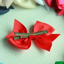 2017 Hot 20 Pcs/lot Baby Infant Girl Costume Hair Bows Clips Xmas Christmas Acessories(China)