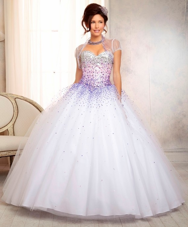 And silver quinceanera dresses