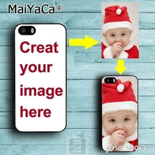 MaiYaCa Custom DIY Print Photo Soft TPU Phone Case For iPhone 6 6S Customized Back Cover Free Logo Fee(China)