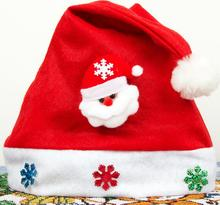Christmas holiday party Decoration hats Xmas caps Santa Claus hat adults children kids baby new Christmas Cosplay Hats gift ST01(China)
