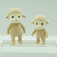 Sheep without cloth Sylvanian Family original Figures Anime Cartoon figures, Toys Child Toys gift(China)
