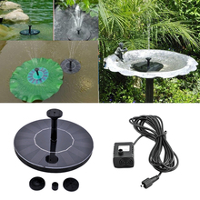 High Quality Solar Power Fountain Water Pump Floating Panel Pool Garden Plants Pond Watering Solar Water Panel Kit
