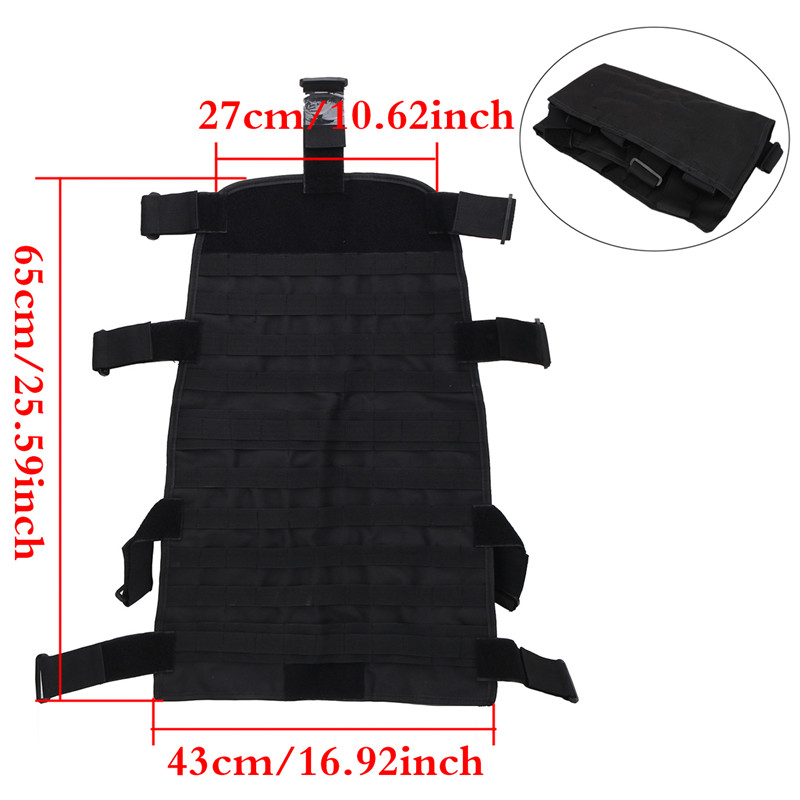 Front Seat Cover Storage Bags Multi Pockets Tool Saddle Bag For Jeep Wrangler JK 2007-2017 Multifunctional Cargo Pouches KOLEROADER (3)