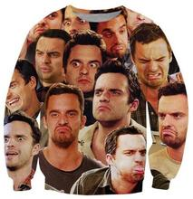 Hot New 3D Nick Miller Paparazzi Crewneck Sweatshirt Fashion Clothing Jumper Women Men Tops