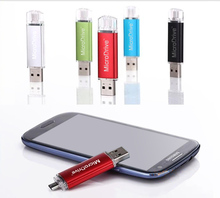 Usb Flash Drive Real Capacity OTG External Storage 4G 8G 16G 32G 64G Pen Drive Pendrive Memory Usb Stick For Andriod phone