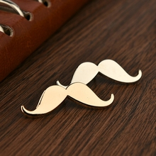 Mdiger Men Beard Shape Vintage Brooch For Men Alloy Plated Collar Brooch for Wedding Business Suit Lapel Pins Mens Accessories
