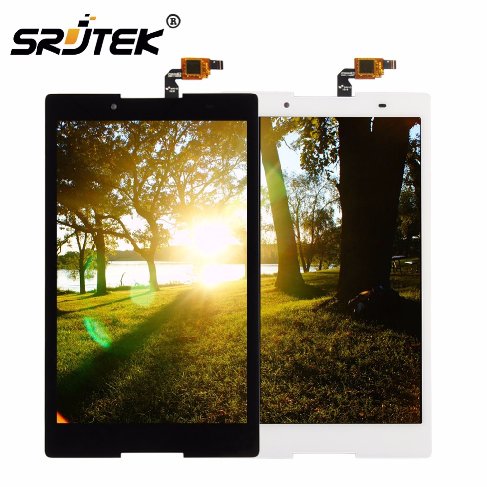 Srjtek 8.0 For Lenovo Tab3 Tab 3 8 850 TB3-850 TB3-850F TB3-850M Touch Panel Screen LCD Display Matrix Assembly with Frame Parts<br>