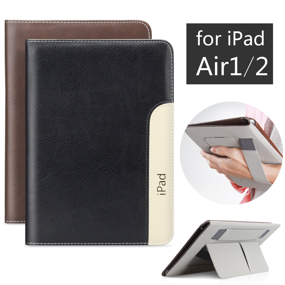 Fashion PU Leather Tablet Smart Cover Case for Apple iPad Air 1 2 Air2 /Have Sleep and Wake function<br><br>Aliexpress