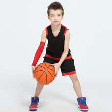 2017 Newest Boys Basketball Jerseys Vests Kits Girls Blank Design Space Jam Jersey Youth Kids Throwback Basketball Team Uniforms