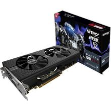 NEW Arrival Sapphire Radeon Nitro+ RX 580 video card RX580 8G DDR5 graphics card DirectX12 2304SP 1340/7000MHz 3 years warranty
