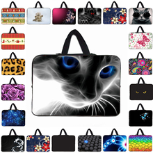 Notebook Neoprene Cases 12 13 15 14 17 10 9.7 15.4 17.3 inch Hidden Handle Sleeve Laptop Bags For Apple IPad Pro Sony Vaio Dell