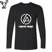 BTS Linkin Park T Shirt Boy Cotton United States Great Singers Casual Tee Shirts Fashion Rock Band Hip Hop T-shirts Boy T Shirts