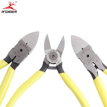 "RDEER Cutting Pliers 5""/6"" Multifunctional Side Cutters Wire Stripper Cable Cutter Electrician Repir Hand Tools(China)"