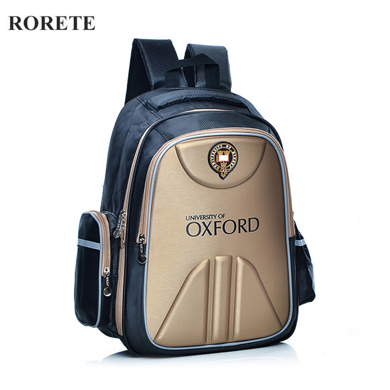 Waterproof Primary School Bags Oxford Orthopedic Children school bag for teenagers girls boys Reflective backpacks Class(China (Mainland))