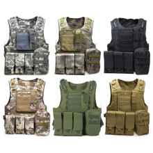 Outlife Camouflage Hunting Military Tactical Vest Wargame Body Molle Armor Hunting Vest CS Outdoor Jungle Equipment with 7 Color(China)