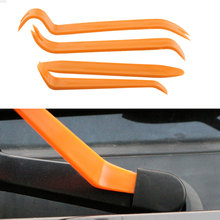 4Pcs/Set Portable Auto Car Radio Panel Door Clip Panel Trim Dash Audio Removal Installer Pry Kit Repair Tool Pry Tool Hand Tools