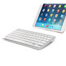 Germany Layout Portable Bluetooth Wireless Keyboard For iPad for Mac Book/PC Computer(China)