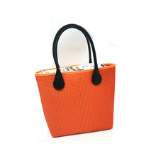 1 orange tote bag handbag 2017(China)