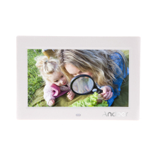 Andoer 10.1''  Digital Photo Frame Ultrathin HD TFT-LCD 1024*600 Support Alarm Clock MP3 MP4 Movie Player with Remote Desktop