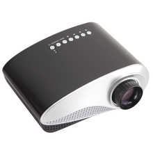 LED MINI Projector 20 To 80 Inch Size Home Theater Portable Projector 200 Lumens Beamer With HDMI USB VGA TV Input Ports