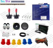 Arcade DIY Kits 412 In 1/Power Supply/Button/Joystick/ Microswitch/Jamma Harness/ Speaker/Game machine accessories(China)