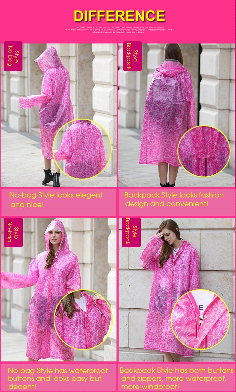 Women Lace Raincoats 17