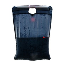 20L Portable Camping Design Solar Heated Shower Outdoor Hiking Water Bathing PVC Bag(China)