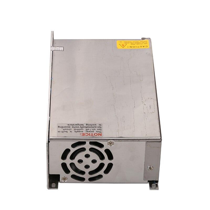 600W 48v 12.5A  led Switching power supply ac dc converter Input 110v or 220V S-600w 48v variable dc led strip transformer<br>