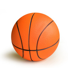 "Children Professional Training Basketballs 100%Non-Toxic PU Materials 6# 6"" 15cm Ball Basketball Orange Color Basketball For Kid(China)"