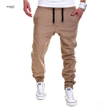 Mens Joggers Male Trousers Men Pants Mallas Hombre  Elastic Cross Pants  Sweatpants Jogger khaki Pantalones XXXL
